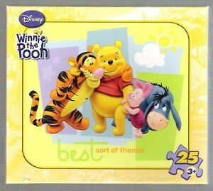 Disney Winnie the Pooh puzzle (Best Sort of Friends) 25 pieces Factory sealed