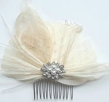 Headpiece, ivory Hair Comb, Wedding Headpiece, Bridal accessories, weddings