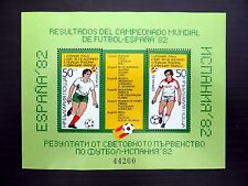 BULGARIA Wholesale 1984 Football M/Sheet x50 U/M NB819