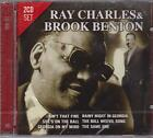 RAY CHARLES & BROOK BENTON on 2 CD's - NEW -