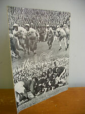 1942 The LOG US Naval Academy Magazine FOOTBALL Issue, Liberty Ships, WWII  etc