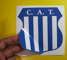 "BEST PRICE LOT OF 10 SOCCER DECAL STICKER TALLERES DE CORDOBA ARGENTINA 5"" X 5"""