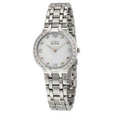 Citizen Bella Eco-Drive Diamond Dial Ladies Watch EM0120-58A