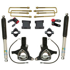 "07-14 Chevy Silverado 1500 2wd MaxTrac Suspension 7.5"" Spindle Lift Kit Bilstein"