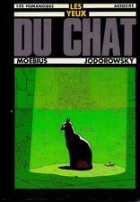 Les Yeux du Chat (ISBN: 2-902123-53-1) (Dédicacé) Moebius et Jodorowski