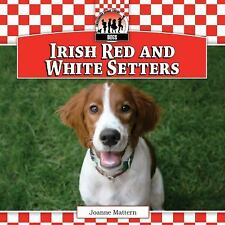 Irish Red and White Setters Checkerboard Animal Library: Dogs