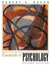 Essentials of Psychology by Robert A. Baron and Michael J. Kalsher (1998, Paper…