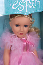 "Kayumi 18"" Espari Doll Blond Hair Blue Eyes princess dress in original Box New"