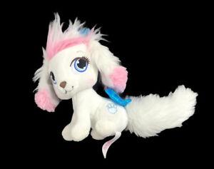 "Disney PALACE PETS Cinderella Puppy DOG Pumpkin WHITE PINK 5"" Plush"