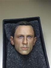 HOT FIGURE TOYS 1/6 Daniel Craig James Bond 007 agents Spectre headplay Custom