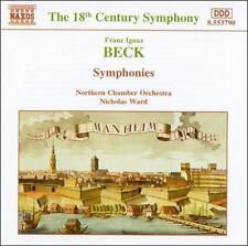 Franz Ignaz Beck: Symphonies, New Music