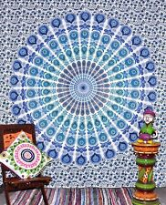 Twin Mandala Indian Psychedelic Tapestry Throw Gypsy Wall Hanging Dorm Decor