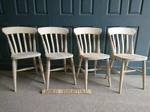 Brand New Country Style Slat Back Farmhouse Country Kitchen Dining Chair