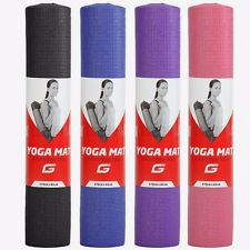 Yoga Mat Gym Fitness Exercise Eco Friendly Foam 6mm Non Slip Pilates Physio Mats