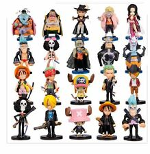 ONE PIECE/ SET 20 PCS LUFFY ZORO SANJI BOA CHOPPER DOFLAMINGO SHANKS 5-10 CM