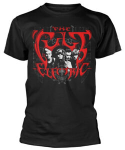 The Cult 'Electric' (Black) T-Shirt - NEW & OFFICIAL!