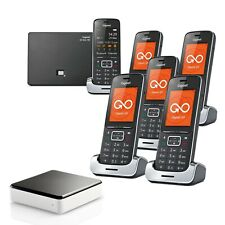 Siemens Gigaset SL450A GO 6 Handset Cordless Phones with Link-to-Mobile