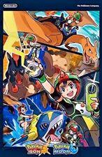 "New Pokémon Sun and Pokémon Moon 11"" x 17"" Double Sided Poster"
