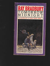 RAY BRADBURY.TOMOROW MIDNIGHT.E.C.COMICS. SIGNED. IST ED.BALLANTINE BOOK.