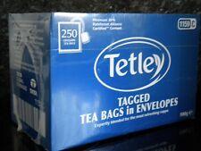 250 Tetley Tagged Sacchetti Tè in Buste per Hotel guest House B&B ETC Gratis P&P
