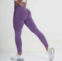 New Purple Seamless Contour Leggings NVGTN Dupe