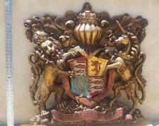 BRITISH ROYAL WEDDING PRINCE HARRY FAMILY COAT OF ARMS SCULPTURE WALL ART ESPADA