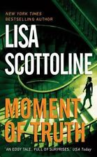Moment of Truth, Lisa Scottoline, 0061030597, Book, Acceptable