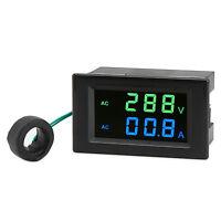 Tester AC130~500V/200A Led Display Voltmeter Ammeter AC 110V 220V Digital Meter