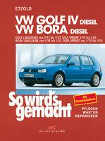 VW GOLF 4 DIESEL Reparaturanleitung Reparaturbuch Jetzt helfe ich mir selbst