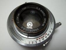 *rare* C. P. GOERZ 24 cm (240mm)  f6.8 BERLIN DAGOR in ALPHAX shutter
