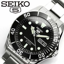 New!! SEIKO 5 SPORTS Automatic Day Date SNZF17J1 / SNZF17JC Black Model Japan