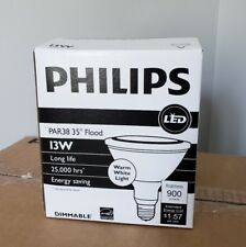 Philips LED Lamps 454744 13 PAR 38 F35 2700 DIM SO Case of 6 New in Box