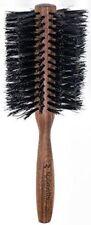 "Spornette Round Boar Bristles Wood Handle Hair Brush # 855  --3 1/4""  Brand new"