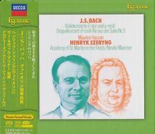 Brand new- Bach Violin Concertos No.1,2 by Henryk Szeryng ,ESOTERIC SACD, Japan