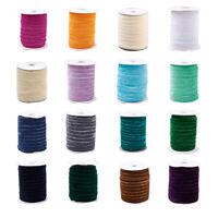 "50yards/roll Single Face Velvet Ribbon For Choker Headband Craft 3/8""(9.5~10mm)"