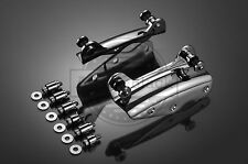 Chrome 4-Point Docking Hardware Kit for Harley Touring '09-'13 PN 54205-09A