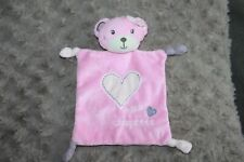 DOUDOU KIMBALOO MISS CHOUPETTE OURS PLAT ROSE COEUR