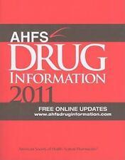 AHFS Drug Information 2011-ExLibrary