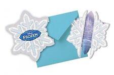 DISNEY FROZEN 6 Invitations avec enveloppe fête d'invitation cartons La Reine de