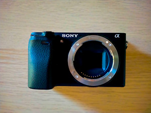 Sony Alpha A6300 24.2MP Mirrorless Digital Camera (Body Only) - Used