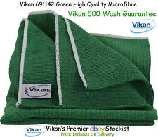 Vikan Microfibre Cloths High Quality Green Microfiber Towels Cleaning Cloth