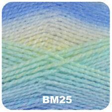 5 X 100g James C Brett Baby Marble DK Shade Bm24 Multi Coloured