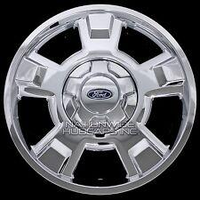 "4 Chrome 2009-2014 Ford F150 17"" Wheel Skins Hub Caps Full Aluminum Rim Covers"