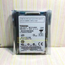 "Toshiba 120 GB,Internal,4200 RPM,4.57 cm (1.8"") (MK1214GAH) Hard Drive"