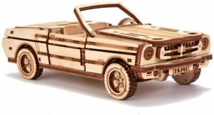 Wood Trick 3D Mechanical Model Kit Cabriolet Car Wooden Puzzle 3D