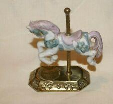 Vintage Willitts Designs Group Ii Carousel Horse Porcelain Figurine 4-2409