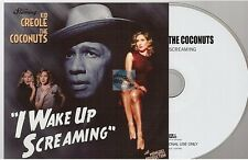 KID CREOLE & THE COCONUTS i wake up screaming CD ALBUM PROMO paper sleeve