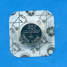 357 SR1154 V357 D357 SR44W 1.55V Silver Oxide Watch Battery Cell Rayovac