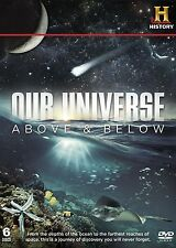 Our Universe - Above and Below [DVD] ( 6 Discs ) All Regions Brand New