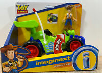 Imaginext Disney Pixar Toy Story Woody Figure & RC Vehicle Set Fisher Price